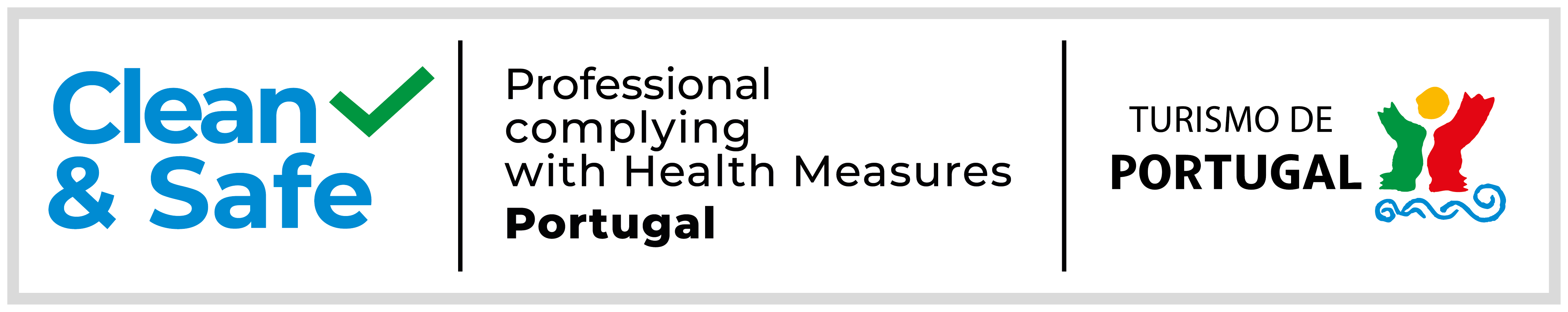 Clean & Safe - Professional complying with Health Measures Portugal